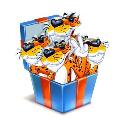 Стикеры «Cheetos» «Стикеры с Честером» ВКонтакте бесплатно