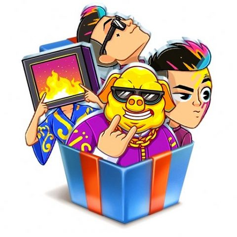 Стикеры «Dirol Party Runner» от «Dirol» ВКонтакте бесплатно