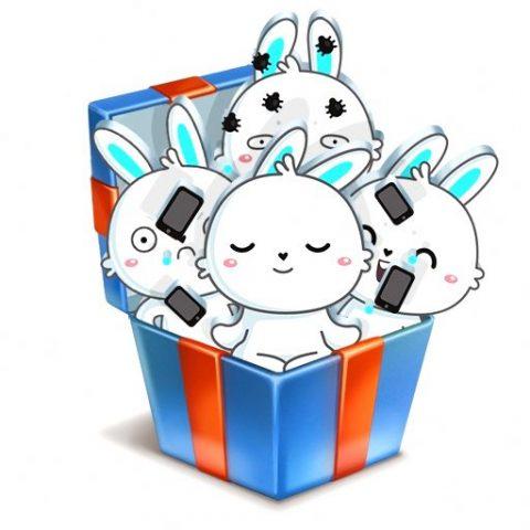 Стикеры «Кролик Олег» от «VK Testers» ВКонтакте бесплатно