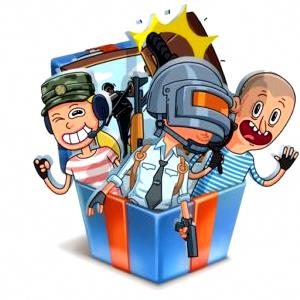Стикеры «PUBG» ВКонтакте бесплатно